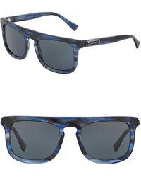Dolce & Gabbana - 53mm Rectangle Sunglasses - Lyst