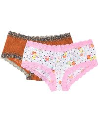 Hanky Panky - Lace Hipster Panties - Pack Of 2 - Lyst