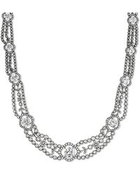 CZ by Kenneth Jay Lane - Multi Cz Imperial Collar Necklace - Lyst