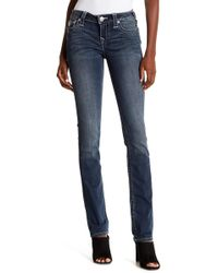 True Religion - Flap Pocket Straight Jeans - Lyst