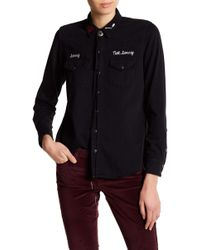Lucky Brand - Embroidered Western Shirt - Lyst