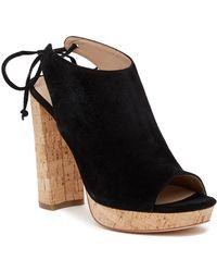 Pour La Victoire - Yanna Platform Back Lace Heeled Sandal - Lyst