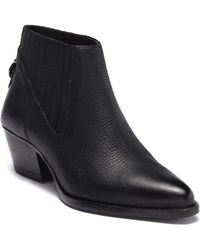 H by Hudson - Ernest Leather Bootie - Lyst