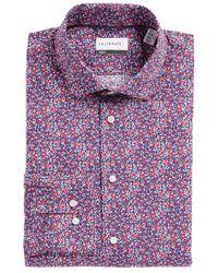 Calibrate - Trim Fit Floral Dress Shirt - Lyst