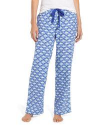 Vineyard Vines - Dots & Stripes Whale Flannel Pants - Lyst