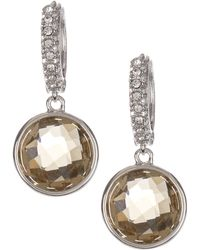 Judith Jack - Sterling Silver Swarovski Crystal Drop Earrings - Lyst
