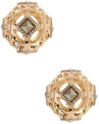 Judith Jack - 10k Gold Plated Sterling Silver Crystal Elegance Stud Earrings - Lyst