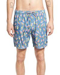Barney Cools - 'sunday' Print Hybrid Shorts - Lyst