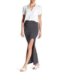 Amour Vert - Zamora Wide Slit Maxi Skirt - Lyst
