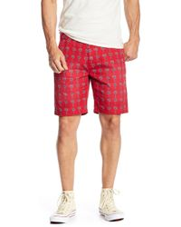 Scotch & Soda - Allover Print Shorts - Lyst