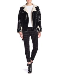 Kenneth Cole - Checkered Skinny Pants - Lyst