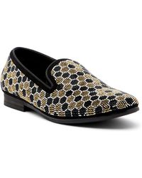 Steve Madden - Caspian Embellished Smoking Slipper - Lyst