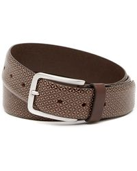 Tommy Bahama - Embossed Leather Belt - Lyst