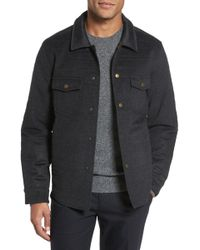 Billy Reid - Michael Slim Fit Quilted Shirt Jacket - Lyst