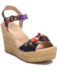 Lust For Life - Gello Platform Wedge Sandal - Lyst