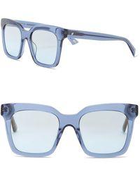 Web - We0222 Square Acetate 49mm Sunglasses - Lyst