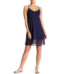 Tommy Bahama - Sheer Panelled Hem Dress - Lyst