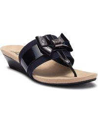 Anne Klein - Impeccable Wedge Sandal - Lyst