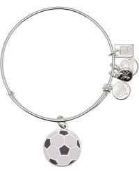ALEX AND ANI - Team Usa Soccer Expandable Wire Charm Bracelet - Lyst