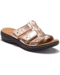 69e1840997e8 Lyst - Clarks Leisa Spring Sandal in Black - Save 31%