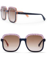 b5c210986b86 Paula s Acetate Women s Sunglasses.  408 · Jimmy Choo - Glint 53mm Square  Sunglasses - Lyst