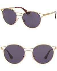 Prada - Women's Phantos Catwalk 53mm Sunglasses - Lyst