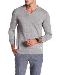 Lindbergh - Knit V-neck Sweater - Lyst