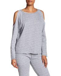 NYTT - Elizabeth Cold Shoulder Sweater - Lyst