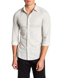 DIESEL   Blanca Printed Slim Fit Shirt   Lyst