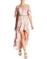 On The Road - Patterned Hi-lo Fiji Dress - Lyst