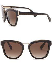 Lanvin - 52mm Square Sunglasses - Lyst
