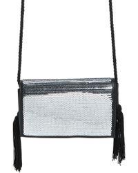 Trouvé - Trouv? Tassel Sequin Crossbody Bag - Lyst