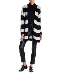 Zadig & Voltaire - Romy Striped Cashmere Cardigan - Lyst