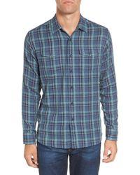 Grayers - Smith Double Cloth Plaid Sport Shirt - Lyst