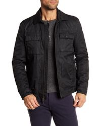 John Varvatos - Military Patch Pocket Jacket - Lyst