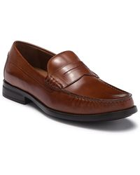 Johnston & Murphy - Chadwell Penny Moc-toe Slip-on Loafers - Lyst