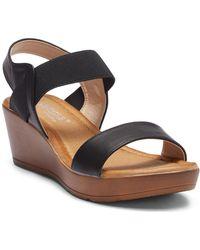 Elegant Footwear - Hasina Wedge Sandal - Lyst