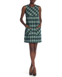 Anna Sui - Brushed Tartan Dress - Lyst