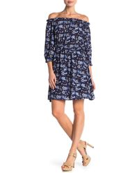 Cece by Cynthia Steffe - Ivy Off The Shoulder Dress - Lyst