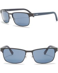 Fossil - Polarized 57mm Sunglasses - Lyst