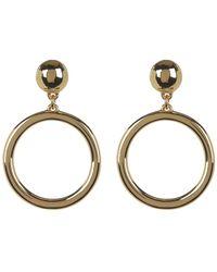 BaubleBar - Open Circle Drop Earrings - Lyst
