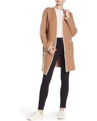 cf2d356d710 Dress Forum - Knit Open Front Cardigan - Lyst