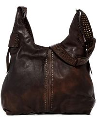 Frye - Samantha Studded Leather Hobo Bag - Lyst