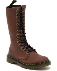 Dr. Martens - Luana Tall Leather Lace-up Boot - Lyst