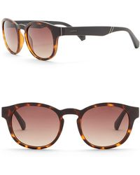 Guess - 50mm Round Sunglasses - Lyst