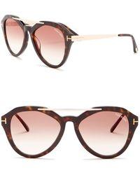 ef74c1847c88 Lyst - Tom Ford Women s Edita Sunglasses