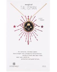 Dogeared - Talisman Elephant Enamel Pedant Necklace - Lyst