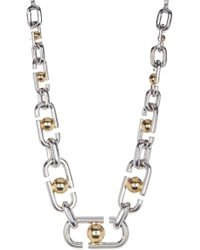 Marc Jacobs - Icon Statement Link Necklace - Lyst