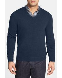 John W. Nordstrom | Cashmere V-neck Sweater (regular & Tall) | Lyst