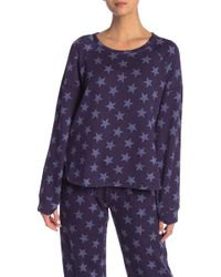 Kensie - Long Sleeve Pj Top - Lyst